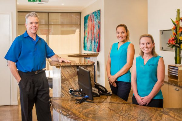 Russell McCloy of McCloy Dental Caboolture and his team