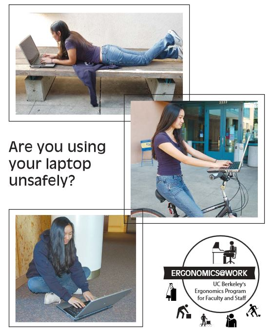 Ergonomic tips for laptop uses Cover
