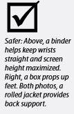 Ergonomic tips for laptop